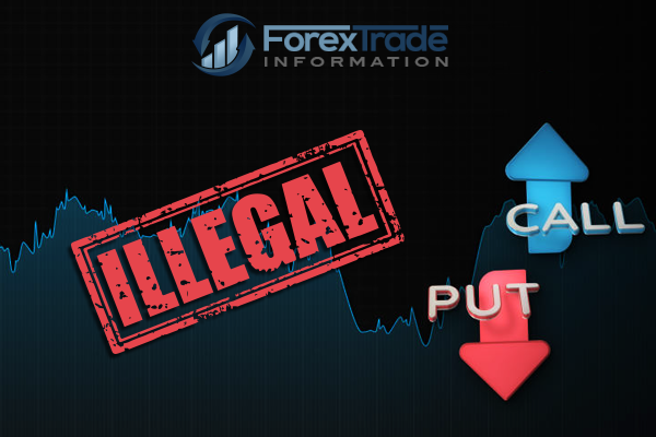 Binary options illegl
