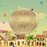 bitcoin spinata grande